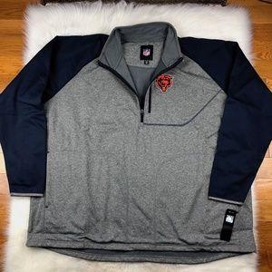 Chicago Bears Men's Softshell Track Jacket 4XL